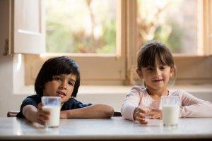 Imatge de la campanya de la llet