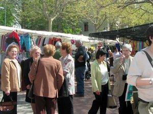 Imatge del mercat setmanal de Solsona