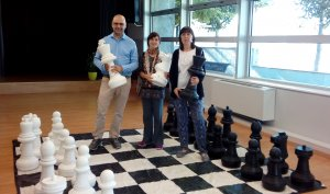 Imatge d'escacs a les Borges