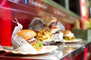 Imatge d'hamburgueses al RUMM Festival