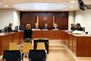 Pla general de l'Audiència de Lleida durant el judici a una veïna de Bell-lloc d'Urgell
