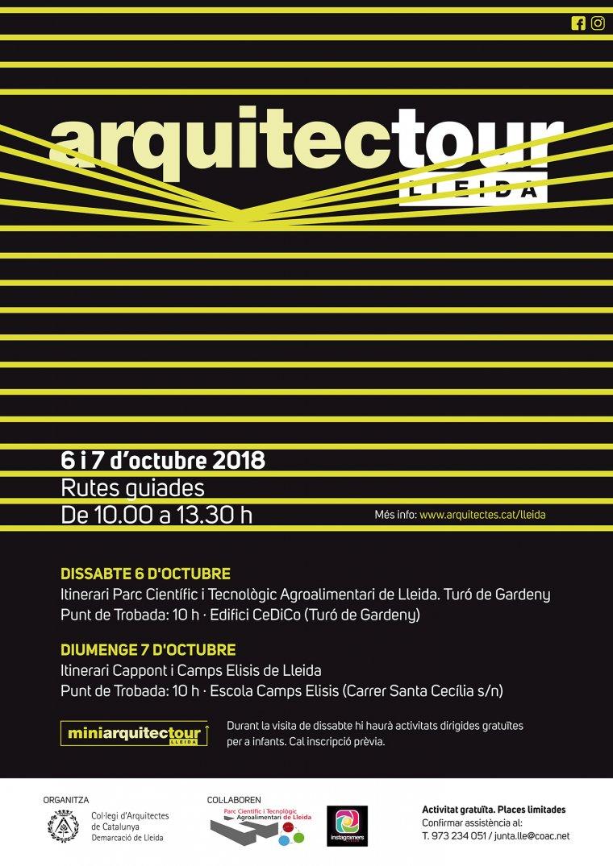 Cartell de l'Arquitectour