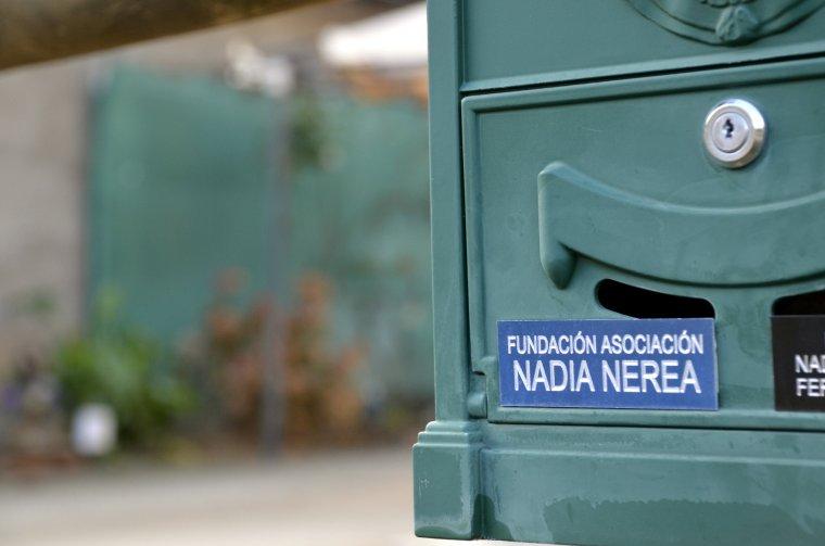 Imatge de la bústia de la Fundació Nadia Nerea a Fígols, a l'Alt Urgell