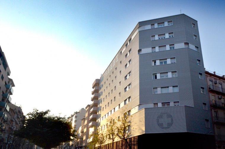 Imatge de la façana de la clínica