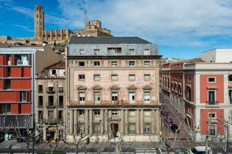 Imatge de l'antiga audiència de Lleida