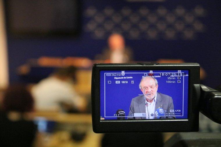 Imatge del president de la Diputació de Lleida, Joan Reñé
