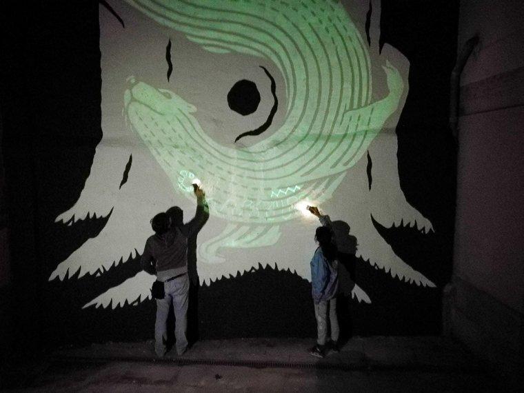 Imatge d'una de les activitats del Nano Arts
