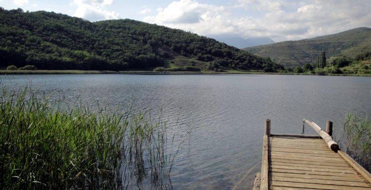 Pla obert de l'estany de Montcortés