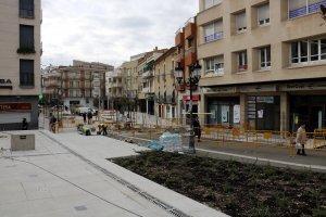 Imatge de la plaça Manuel Bertrand