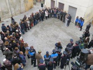 Imatge de l'acte a Lleida