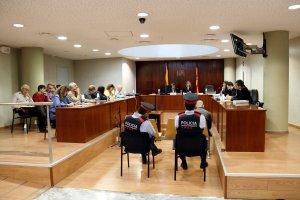 Imatge general de l'acusat pel crim d'Alfarràs, el primer dia de judici a l'Audiència de Lleida