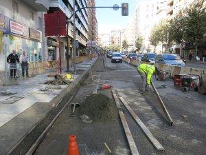 Més obres pel carril bici a Lleida