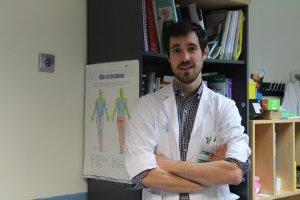 Mikel Vicente, facultatiu especialista en Neurologia