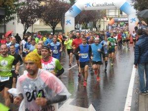 Un moment de la cursa a Lleida