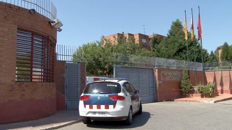 Imatge de l'exterior de la presó de Ponent, ubicada a la ciutat de Lleida.