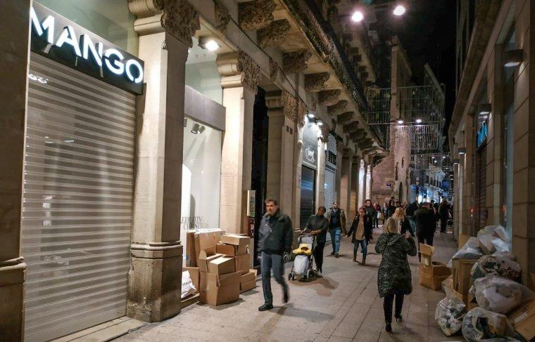 Imatge del Mango de Lleida tancat