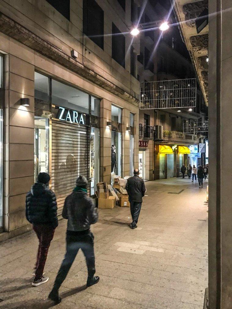 Imatge del Zara de Lleida tancat