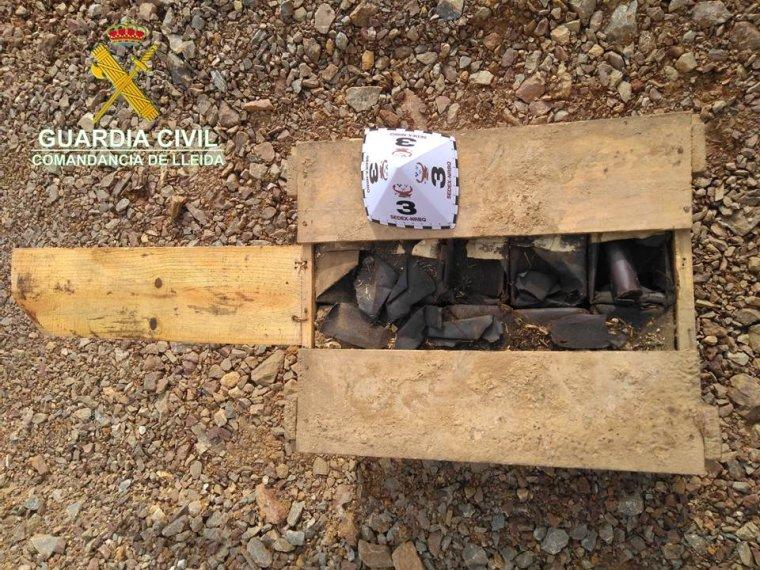 Més explosius trobats