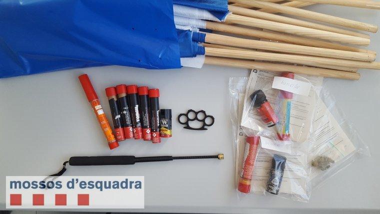 Més material inteceptat pels mossos