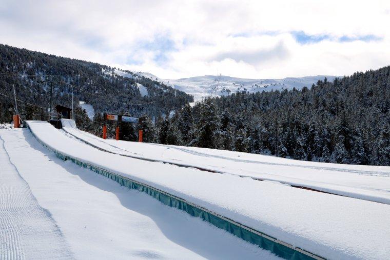 Panoràmica de l'estació d'esquí de Port Ainé