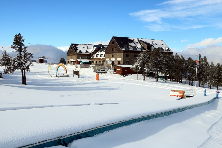 Pla general de l'estació d'esquí de Port Ainé