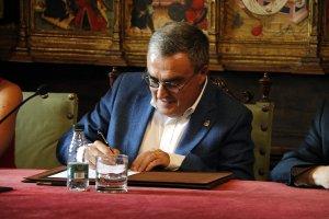Àngel Ros signa la renúncia a l'alcaldia de Lleida