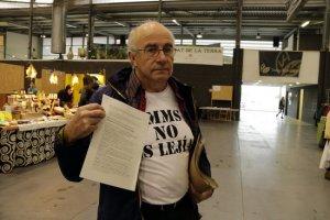 Imatge de Josep Pàmies a la Fira de l'Alimentació i la Salut 2018 de Balaguer