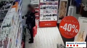 Imatge d'un moment del robatori