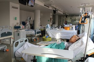 Imatge d'un pacient a l'Arnau