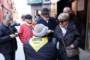 La veïna de Balaguer, Josefa Pedra, que ha denunciat la coordinadora de C's a Balaguer