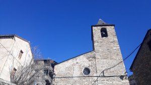 Pla general de l'església de Sant Martí de Bescaran, al municipi de les Valls de Valira