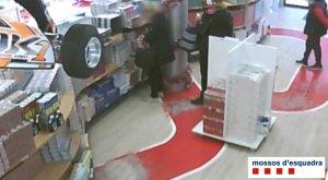 Una altra imatge del robatori