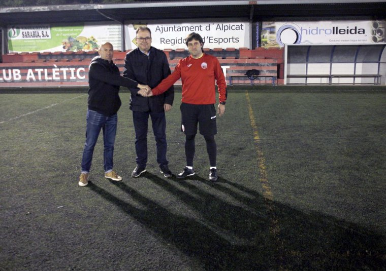 Imatge al camp de futbol municipal d'Alpicat