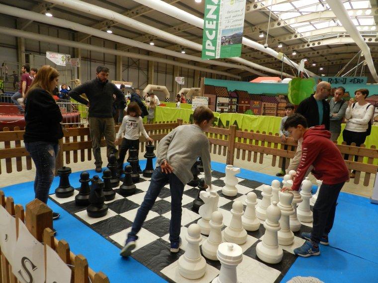 Imatge del joc d'escacs al Cucalòcum