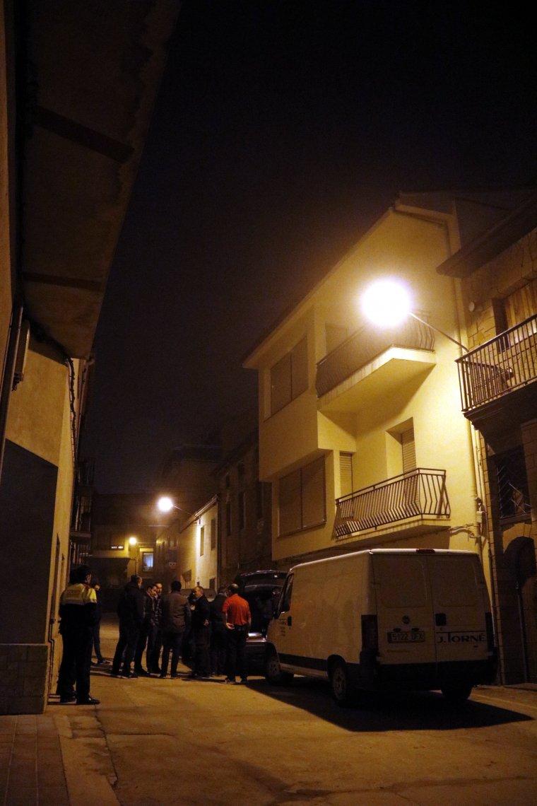 L'edifici on ha aparegut el cadàver d'un home amb signes de violència