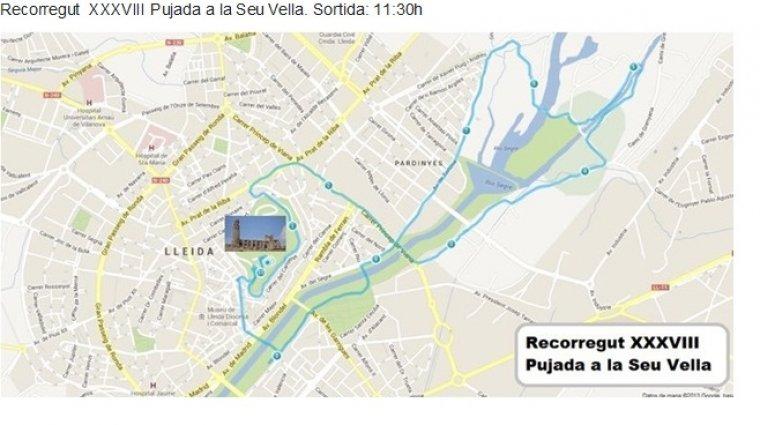 Mapa de la cursa
