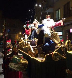 Imatge de la cavalgada dels Reis a Solsona