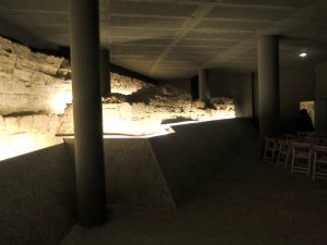Imatge de les muralles medievals de Lleida