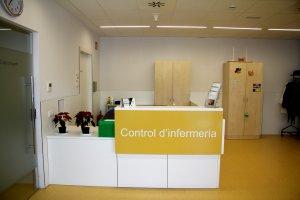 Control d'infermeria
