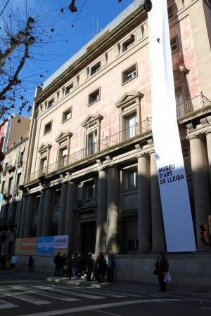 L'edifici que acollirà el nou Museu d'Art de Lleida