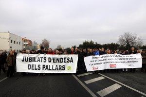 Manifestació contra Endesa