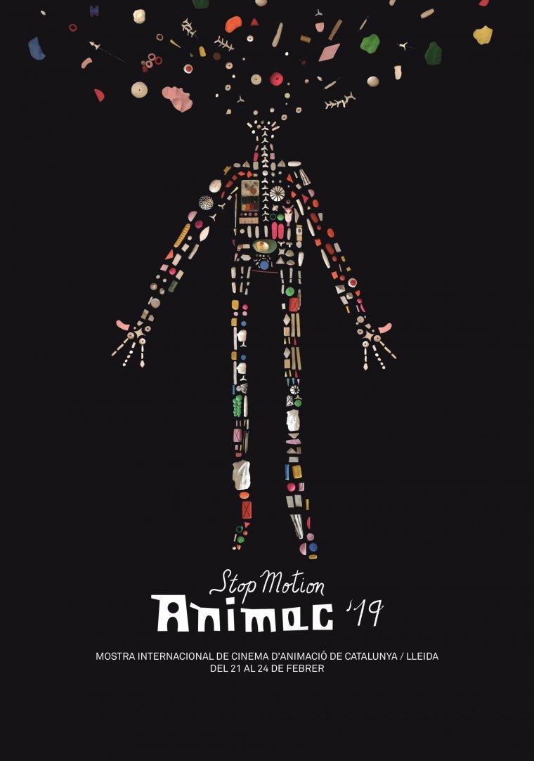 El cartell de l'Animac de l'edició del 2019