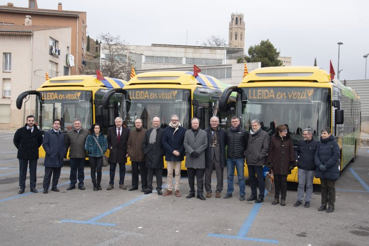 Presentació busos a Lleida