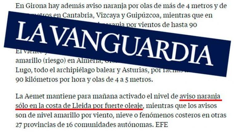 Errada La Vanguardia