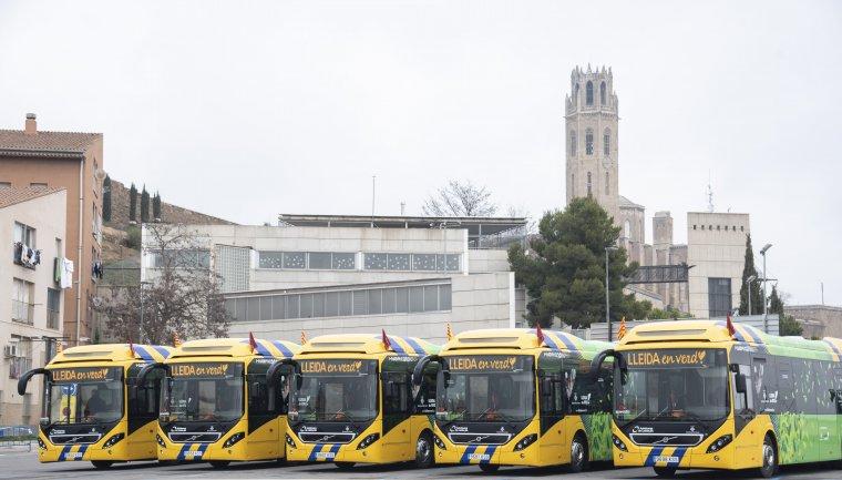 Nous autobusos de Lleida