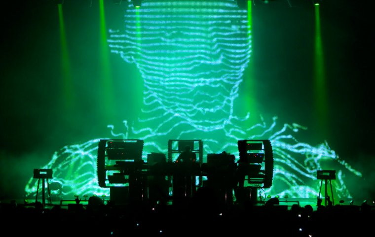 The Chemical Brothers, durant la seva actuació al Sónar l'any 2010