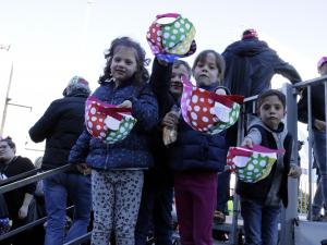 Nens a la festa d'Afanoc