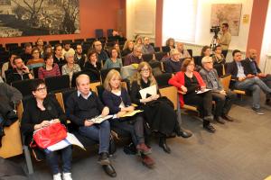 Pla obert de la presentació del Pla Educatiu d'Entorn 0-20 a l'Ajuntament de Tàrrega