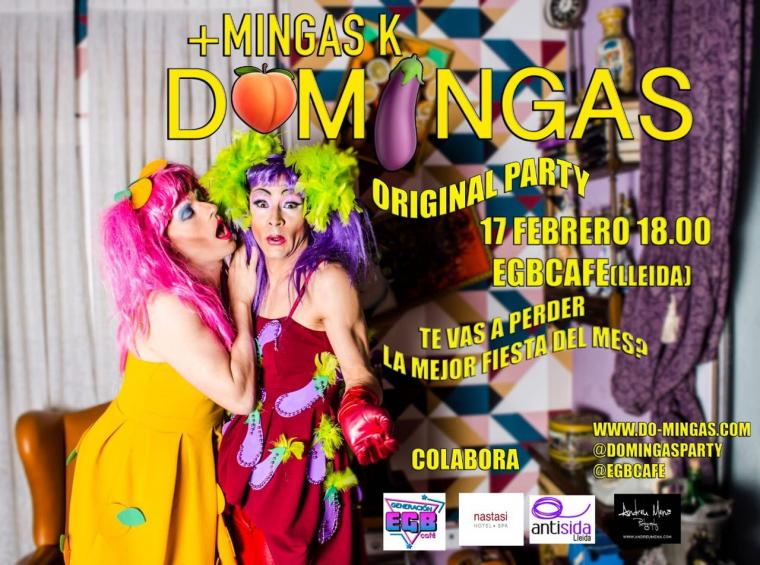 Cartell presentació de Domingas