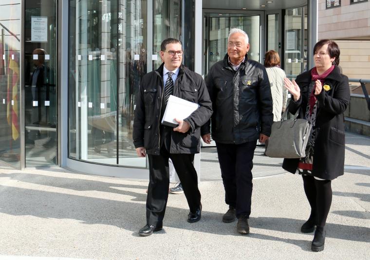 L'home que va patir un atac de cor a Lleida l'1-O sortint dels jutjats